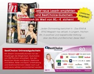 """Abo-Tipp: Star & Style-Magazin """"in"""" - nur 19€ effektiv im Jahresabo"""