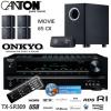 Heimkinoreceiver Onkyo TX-SR309 und Lautsprechersystem Canton Movie 65 CX im Set nur 369,95€ zzgl. Versand bei iBood