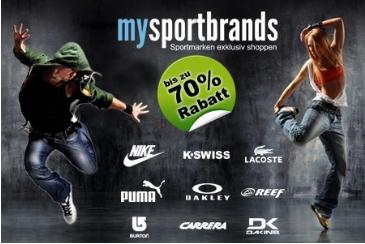25-Euro-Gutschein für Mysportbrands nur 9€ bei Groupon