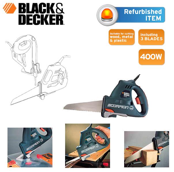 iBOOD des Tages! Elektrische Hand- und Stichsäge von Black & Decker für 45,90€ inklusive Versandkosten