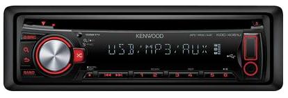 KENWOOD Autoradio mit USB-Anschluss nur 66,66€ versandkostenfrei