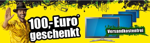 100€ Rabbat auf ausgewählte Fernsehgeräte bei ProMarkt.de