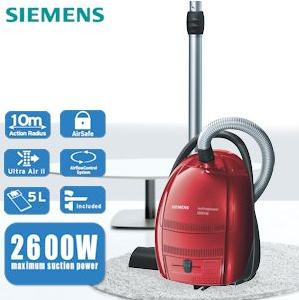 Siemens-Staubsauger mit 2600W Leistung für 108,90€ inklusive Versand