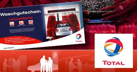 TOTAL-Autowäsche mit DailyDeal-Gutschein nur 7€ statt 13,50€