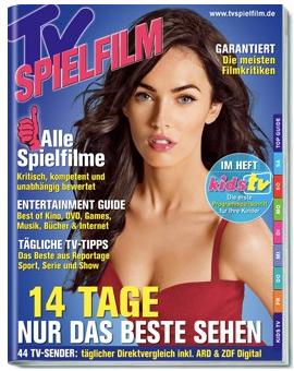 Fernsehzeitschriften dank Barprämien supergünstig: TV Today ein Jahr für nur 5,50€, TV Spielfilm oder TV Movie für 9,40€!