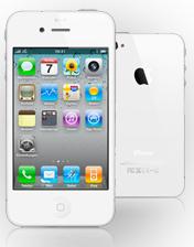 Apple iPhone 4 16 GB in weiß für 39€ mit Vodafone SuperFlat-Vertrag