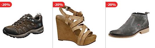 Nur noch heute: 10% Rabbat auf Schuhe bei mirapodo.de