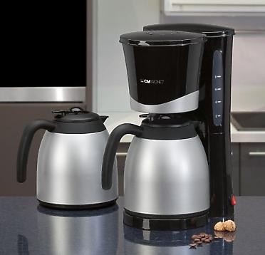 thermo kaffeemaschine ka3328 von clatronic mit 2 kannen f r 26 99 versandkostenfrei bei. Black Bedroom Furniture Sets. Home Design Ideas
