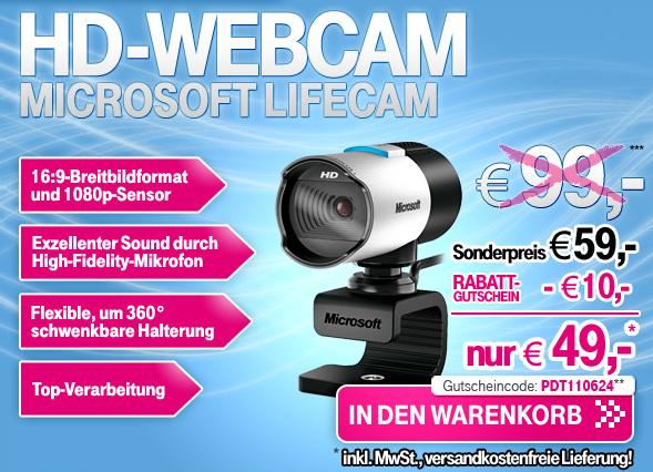 microsoft lifecam studio im t online shop f r nur 49 versandkostenfrei. Black Bedroom Furniture Sets. Home Design Ideas
