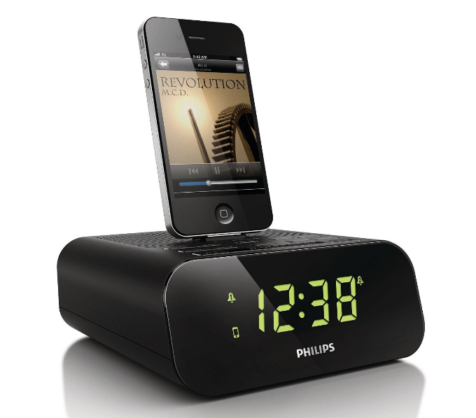 philips aj3270d 12 radiowecker mit ipod dock f r 29 99. Black Bedroom Furniture Sets. Home Design Ideas