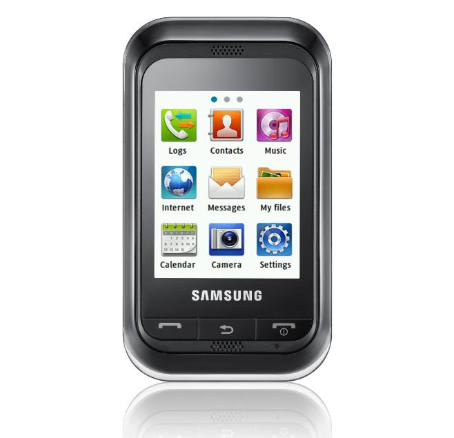 samsung handy c3300 mit touchscreen f r 37 90 inklusive versandkosten im medionshop. Black Bedroom Furniture Sets. Home Design Ideas