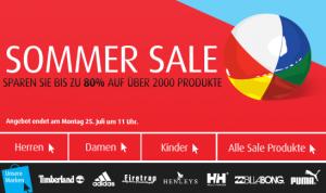 Artikel bis zu 80 % reduziert! Noch 1 Woche Sommer Sale bei MandmDirect