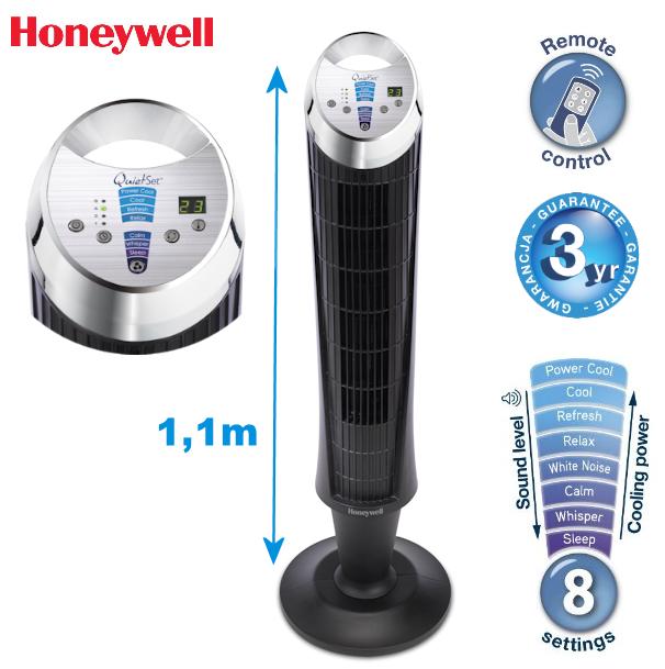honeywell turmventilator mit thermostat und fernbedienung f r 68 90 inklusive versandkosten bei. Black Bedroom Furniture Sets. Home Design Ideas