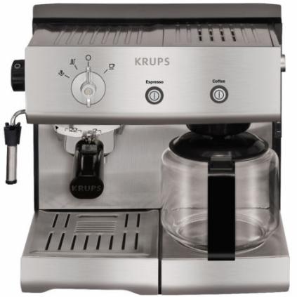krups xp 2240 espresso kombi kaffeeautomat f r nur 199. Black Bedroom Furniture Sets. Home Design Ideas