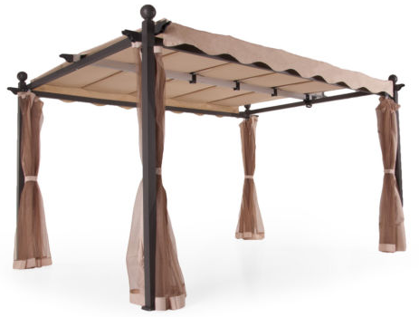 metall gartenpavillon avantos f r 299 versandkostenfrei bei ebay. Black Bedroom Furniture Sets. Home Design Ideas