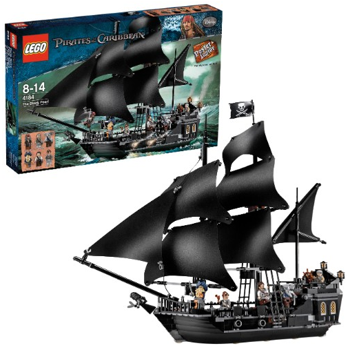 lego fluch der karibik piratenschiff black pearl f r 72 94 inklusive versandkosten bei. Black Bedroom Furniture Sets. Home Design Ideas