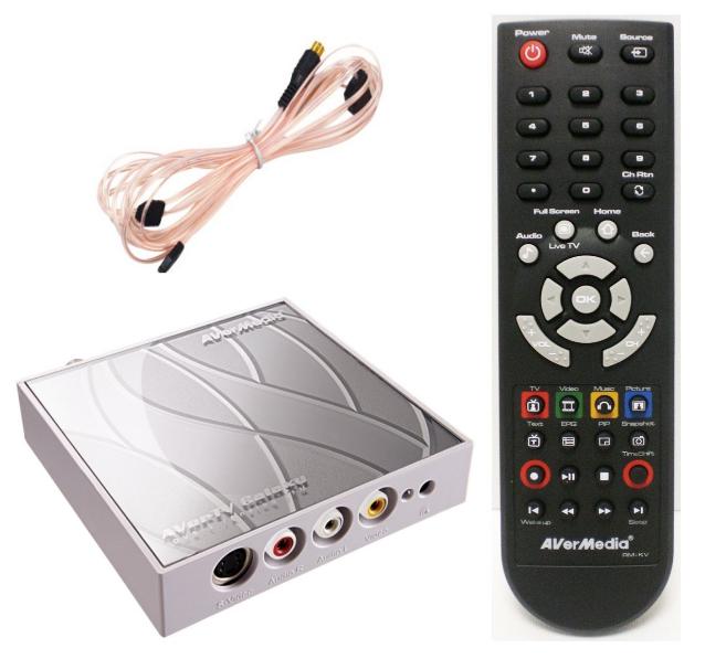 satelliten receiver f r den pc avertv galaxy f r 33 50. Black Bedroom Furniture Sets. Home Design Ideas