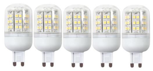 5 LED-Lampen Für GU9-Fassung Für Nur 26,90