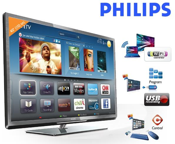 40 zoll fernseher philips 40pfl5007h f r 608 90 inklusive. Black Bedroom Furniture Sets. Home Design Ideas