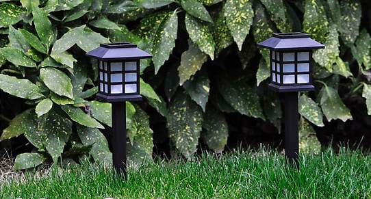 12 bw led solarlampen f r den garten f r 19 99. Black Bedroom Furniture Sets. Home Design Ideas
