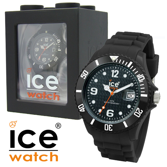 armbanduhr ice watch sili forever black f r 55 90. Black Bedroom Furniture Sets. Home Design Ideas