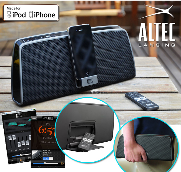 portables lautsprecher dock altec lansing imt630 f r iphone oder ipod f r 55 90 inklusive. Black Bedroom Furniture Sets. Home Design Ideas