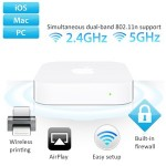 Apple AirPort Express Basisstation mit Simultanem Dualband 802.11n