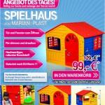 Marian-Plast Spielhaus Länge 130 x Breite 109 x Höhe 115 cm